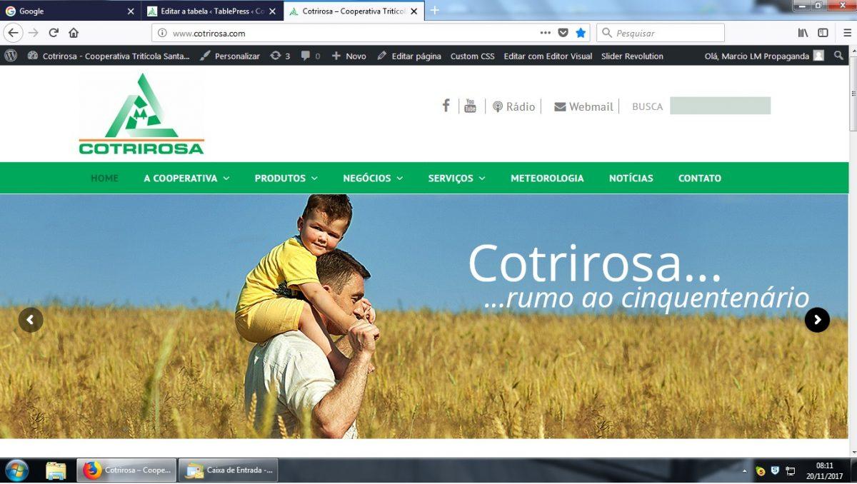 Site Cotrirosa